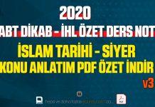 siyer, islam tarihi pdf özet